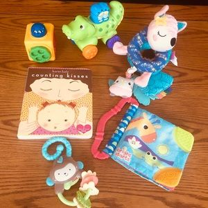 INFANTINO++ 6pc Lot Infant/Baby Activity Toys
